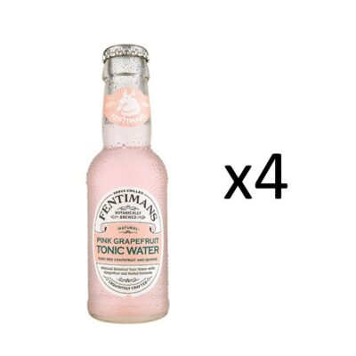 Fentimans Pink Grapefruit Tonic 4-pack