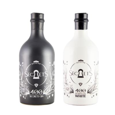 Belgian Secrets Gin 400 black & white