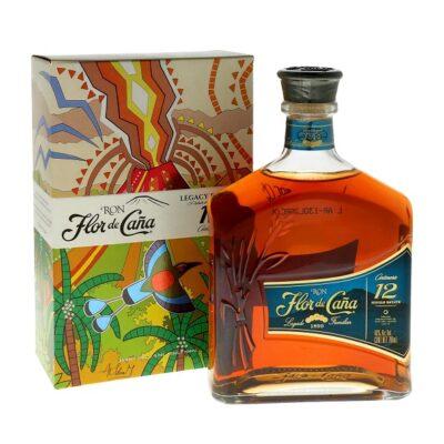 Flor de Cana Rum gift box