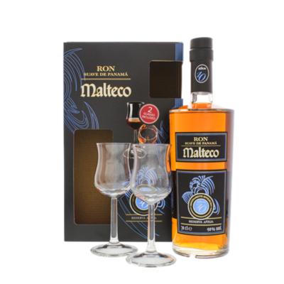 Malteco 10yo + 2 glazen