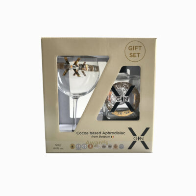 X-Gin Gift Set + Copa glas