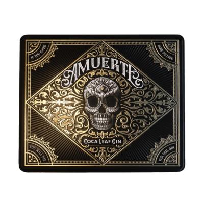 Amuerte Gin Black Metal Box Giftpack