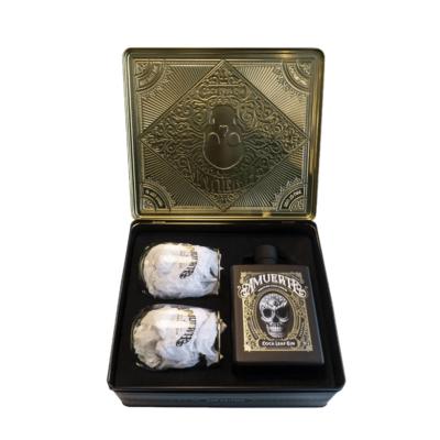 Amuerte Gin Black Metal Box Giftpack_1