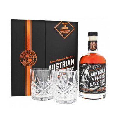 Austrian Empire Navy Rum Solera 18 Gift