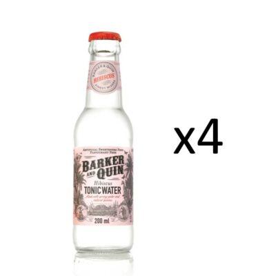 Barker & Quin Hibiscus Tonic 4-pack