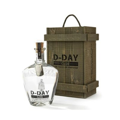 D-Day Gin Wooden Gift Box