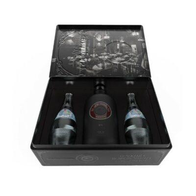Black Tomato Gin Metal Gift Box + 2 tonics