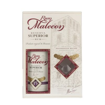Malecon 15YO Rum Giftpack