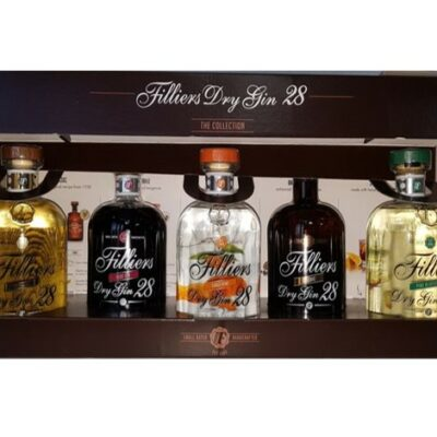 Filliers Dry Gin 28 Collection Gift Box - BEL