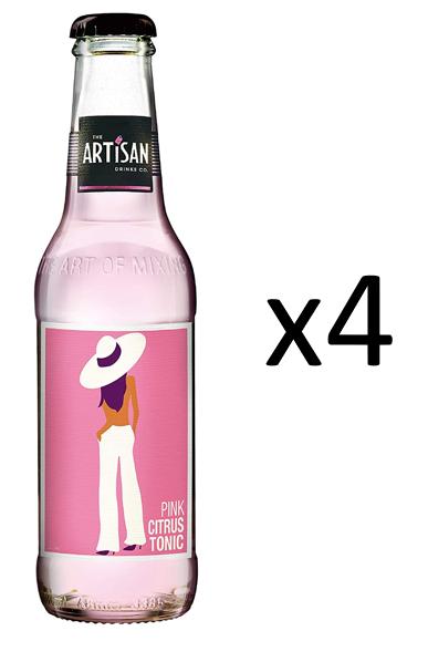 The Artisan Pink Citrus Tonic 4-pack