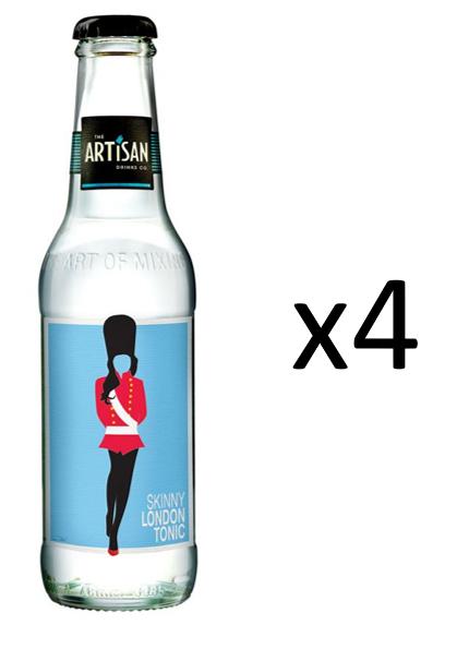 The Artisan Skinny London Tonic 4-pack
